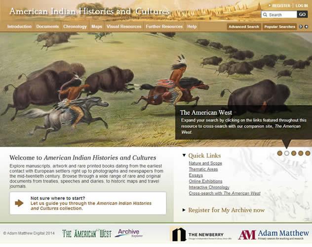 American Indian Histories and Cultures  Adam Matthew Digital